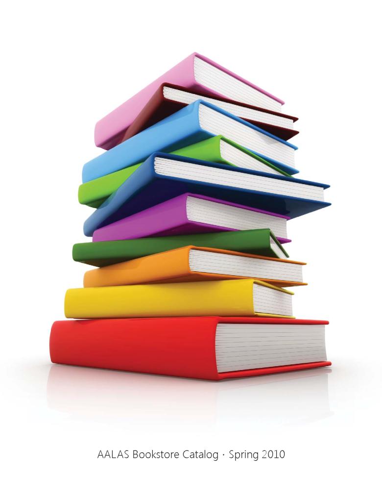 2009 bookstore catalog cover