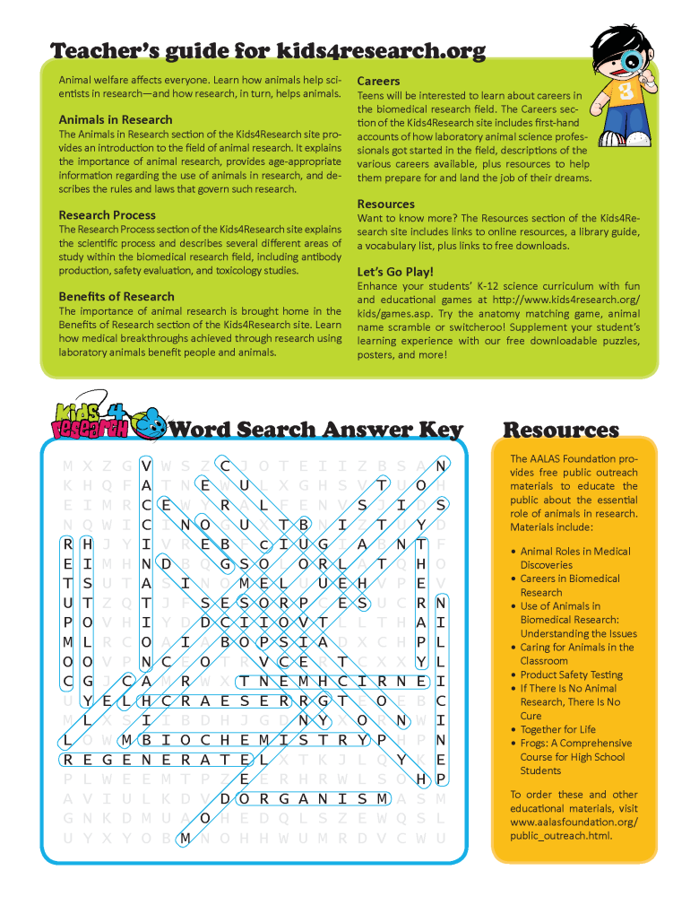 word search answer key thumb